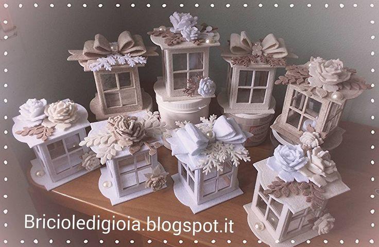Ciao mondo!! Qui continuano le creazioni in occasione del mercatino di Natale..Oggi vi presento queste lanterne, nate dopo aver visto questo...