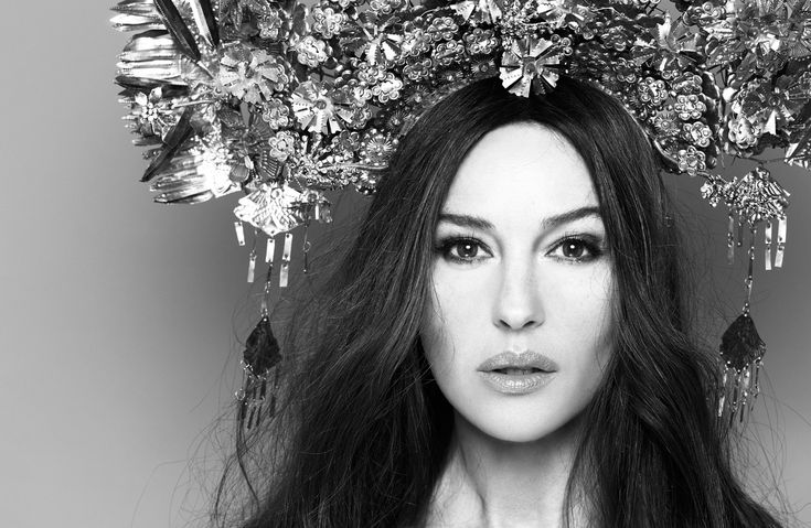 Monica Bellucci Hunger Portrait Fashion
