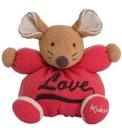 Doudou Kaloo Sweet Life souris love