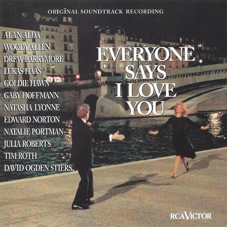 """Everyone Says I Love You"" movie soundtrack, 1996"