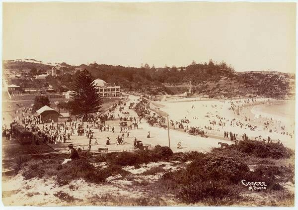 Coogee in southeastern Sydney (year unknown).