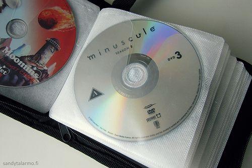 A children's DVD storage solution.