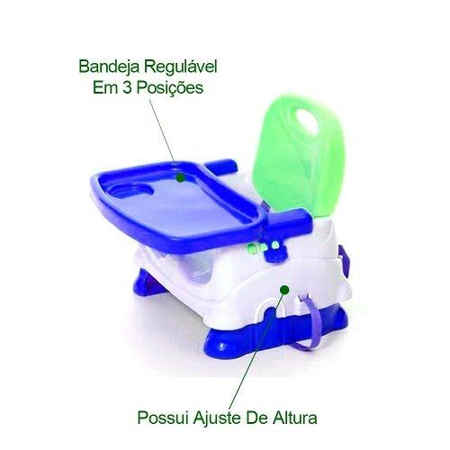 Cadeira De Alimentação Para Bebes Dobrável, Suspensa, Portátil e Tradicional. Entre no site para comprar!