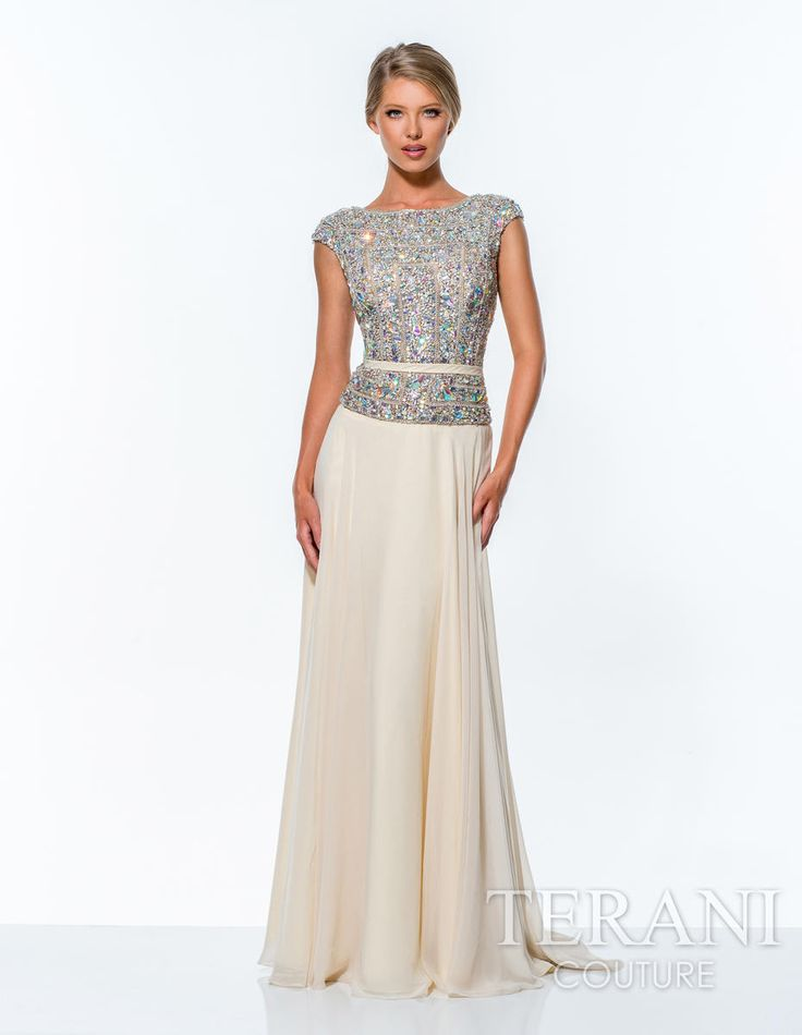 Terani Mother of the Bride 151M0351 Terani Mother of the Bride Prom Dresses 2015, Evening Gowns, Cocktail Dresses: Jovani, Sherri Hill,…