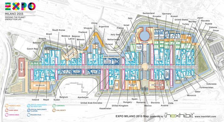 Wondering where national #pavilions  at #expo2015  in #Milan  are exactly located? No problem, at #Inexhibit  we have prepared a #map   for you with all pavilions and their position! You can download it absolutely for free at http://www.inexhibit.com/seed/milan-expo-2015/