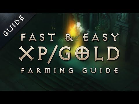 Diablo 3: Reaper of Souls Fast Leveling, Gold Farming Exploit Guide: Matriarch's Bones - YouTube