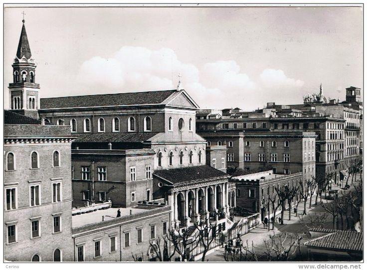ROMA:  BASILICA  SANTUARIO  DI  S. ANTONIO  Via Merulana 1956