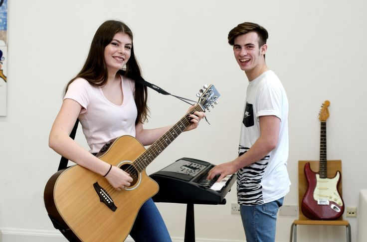 Talented Music students at Shipley College