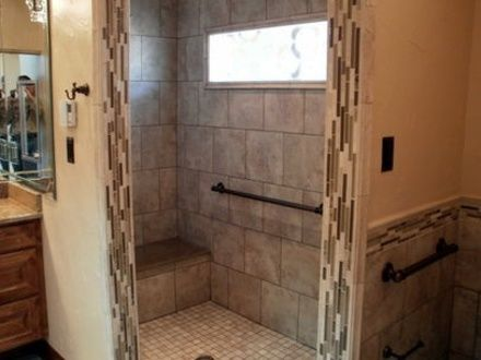 Image Result For Walk In Shower With Bench Seat Bathroom