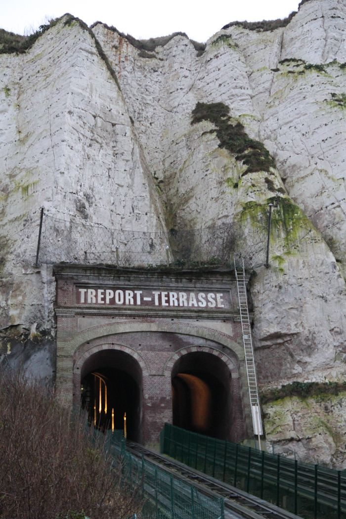 Le treport Terrasse, Normandie, France