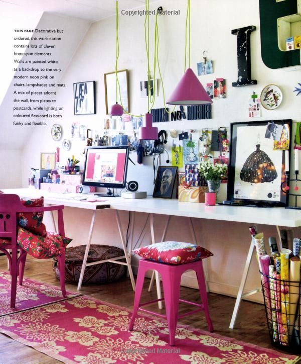 Homespun style: Books, Eigen Stijl, Your Own, Selina Lakes, Creative Spaces, Homespun Style, Work Spaces, Workspaces, Thui Je