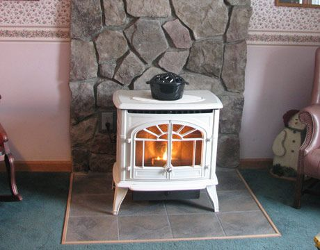 Pellet stoves are vastly more efficient than traditional fireplaces or woodstoves, and produce very little smoke and ash.
