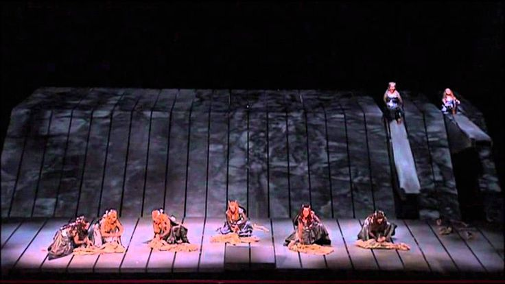 The Ride of the Valkyries from Wagner's Ring Cycle at the Met