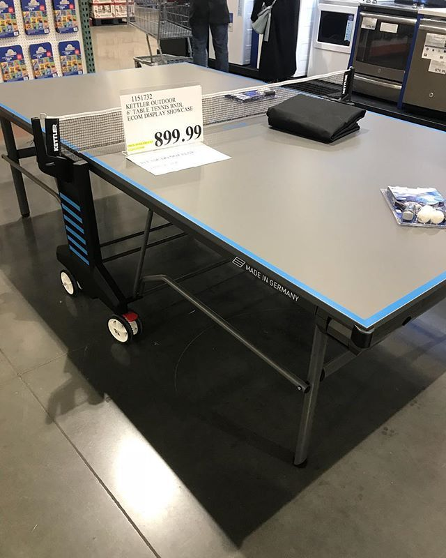 Need This Pingpong Table Kettlersports Outdoor 6k Tabletennis Online On Costco Com Only 899 99 Costcodeals Co Costco Deals Table Tennis Home Decor