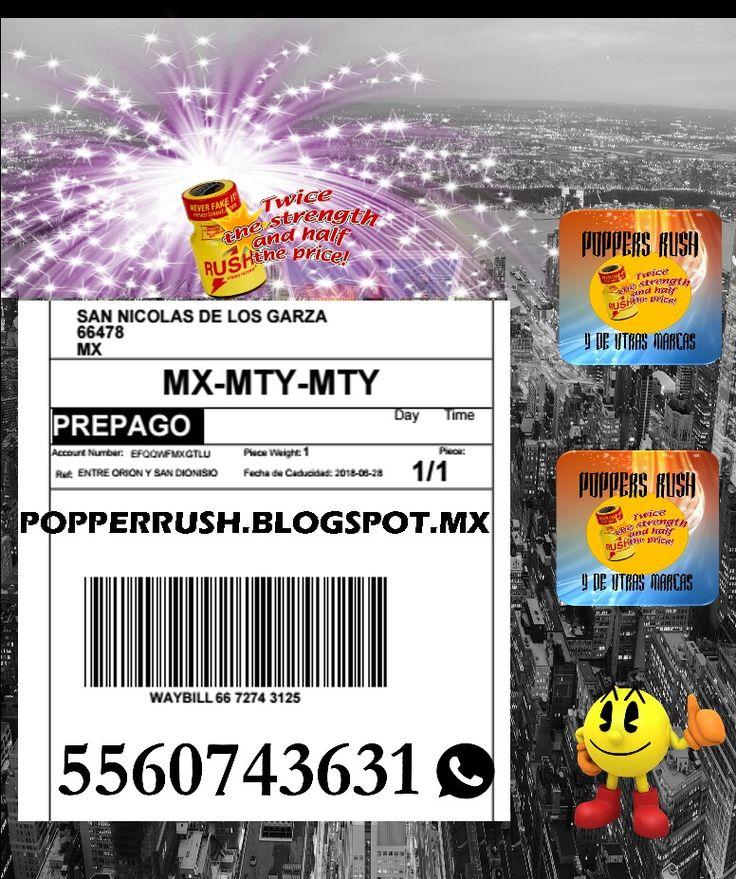 Gracias a nuestros clientes de Monterrey por su compra. Popperrush.blogspot.mx Envíos rápidos, seguros y a tiempo. 5560743631 whatsapp #poppers #gay #venta #mayoreo #Mexico #junglejuice #amsterdan #superrush #aromas #sexuales #gay #originales #hardware #sexo #gay #nitro #blacklabel #lockerroom #ram #blueboy #rushyelow # quicksilver #huff #sniff #cum #sexy #junglejuiceplus #rushgold #bolt #hardware #liquidaroma #rushgold #amylnight #manscent #ironhorse #junglejuiceplatinium…