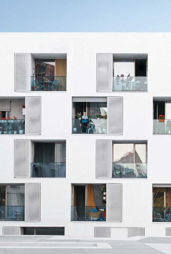 Sozialer Wohnungsbau für Senioren in Barcelona - GRND82