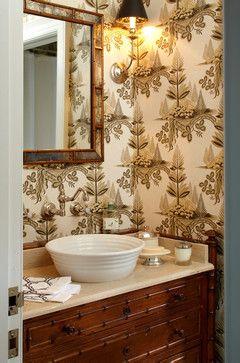 159 Best Powder Rooms Images On Pinterest Bathroom
