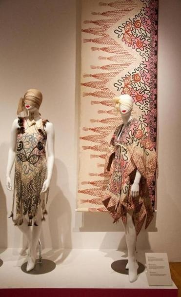 """This is the last weekend for """"Zandra Rhodes: A Lifelong Love Affair With Textiles"""" exhibit at MassArt. And the last chance to buy Zandra Rhodes scarves, books, and more at MassArt Made."""
