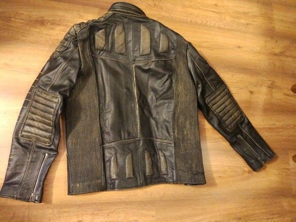 91fa9ccd40a7 MAPLESTEED Vintage Motorcycle Jacket Men Leather Jacket 100% Cowhide ...
