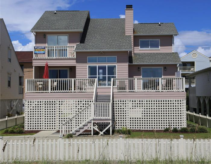BRITT HOUSE LUXURY OCEANFRONT RENTAL is professionally managed by Elliott Realty - Elliott Beach Rentals provides oceanfront vacation beach houses and condos in North Myrtle Beach and Myrtle Beach, South Carolina.