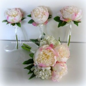 Pink peony for Flower Girl  image