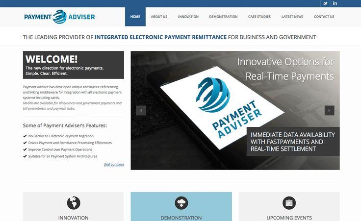Payment Adviser Wordpress Website by Liana Spiro Creative Clarity
