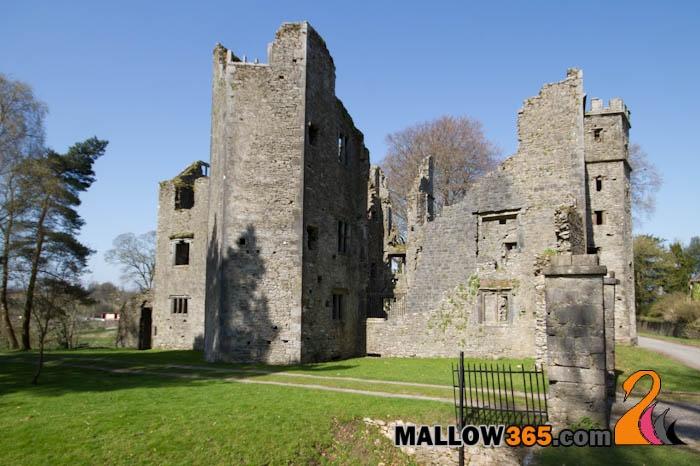 Mallow Castle in Mallow,  County Cork