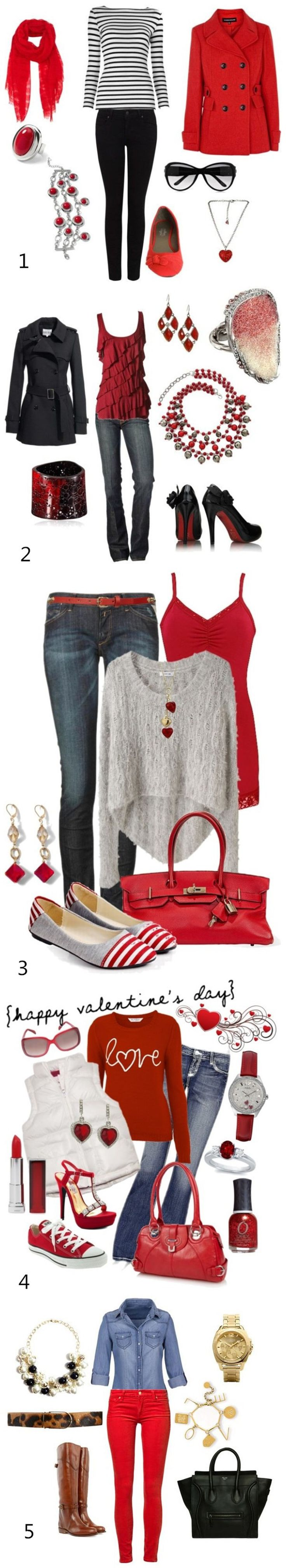 5 Valentine's Day Outfit Ideas  http://craftingwire.blogspot.com/2015/02/5-valentines-day-outfit-ideas.html