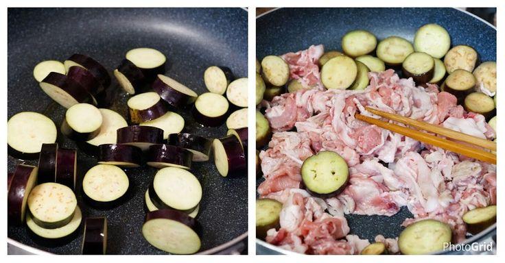 茄子→豚肉→ピーマンと時間差で炒めているので茄子はとろとろに、豚肉は柔らかく、ピーマンはシャキっ…