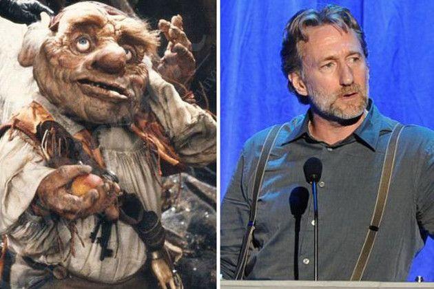 Brian Henson voiced  Hoggle.  Labyrinth.