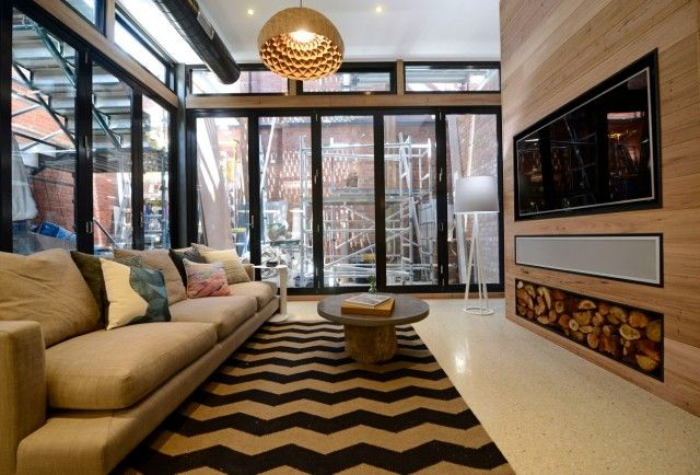 Brad and Dales living area scored them a tied third place #theblock