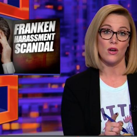 11/16/17 S.E. Cupp Rips Al Franken: 'She Was Asleep and He Used Her Body as a Punchline'