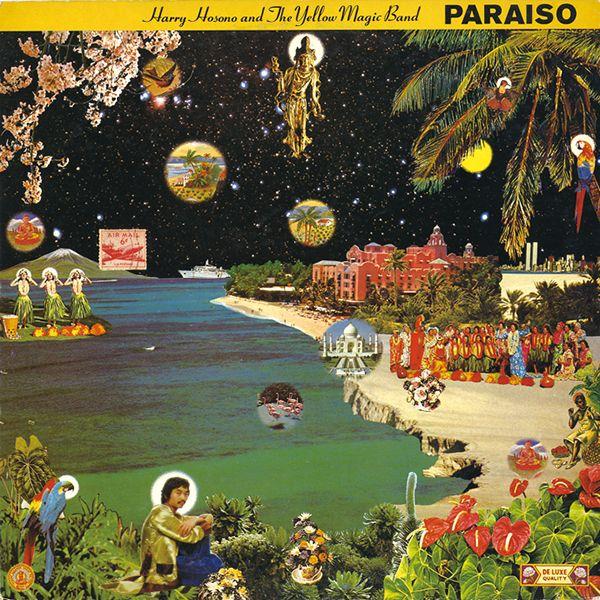 1978年4月25日「はらいそ」(細野晴臣&イエロー・マジック・バンド名義) HARUOMI HOSONO (HARRY HOSONO AND THE YELLOW MAGIC BAND) /PARAISO