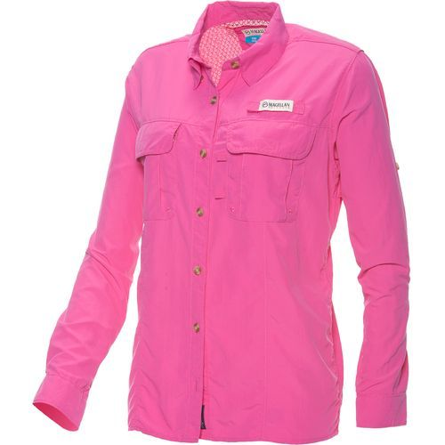 Magellan outdoors women 39 s fishgear laguna madre long for Magellan fishing shirts