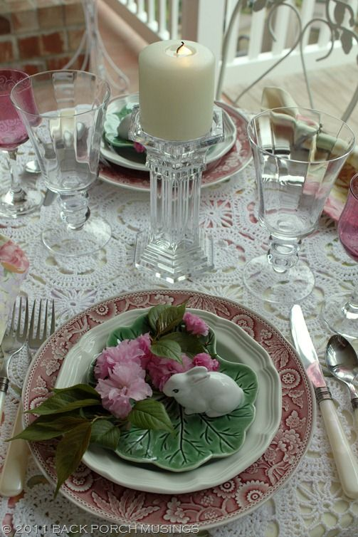 82 best spring tablescapes images on pinterest