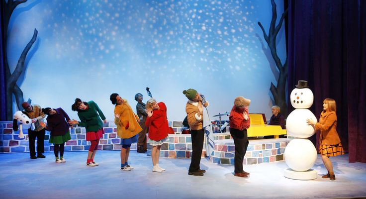 Image result for charlie brown christmas musical