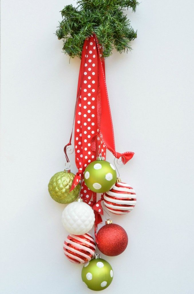 DIY Holiday Ornament Decor