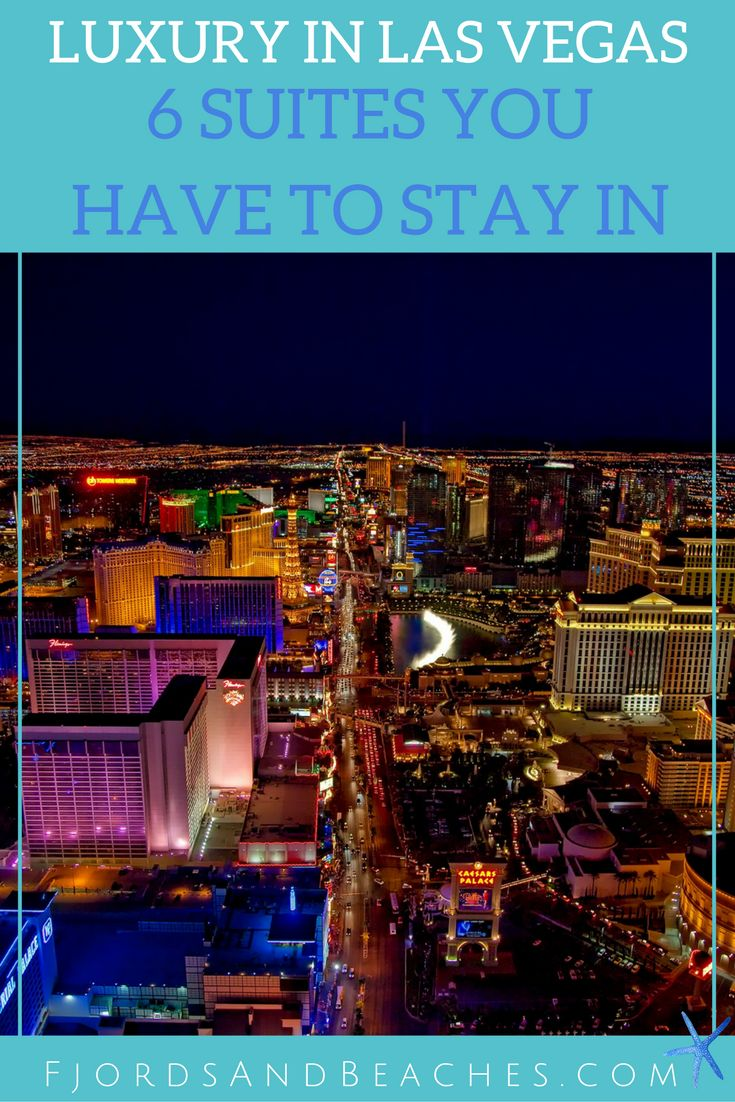 Six Las Vegas Suites we are dying to stay in. Beautiful Las Vegas suites. What hotel to choose in Las Vegas.