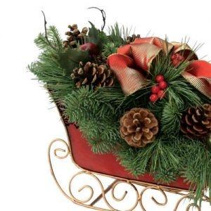 Santa's Sleigh Centerpiece