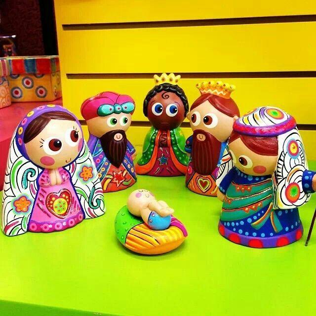 Nacimiento pesebres nacimientos pinterest colors christmas and christmas nativity - Nacimiento para navidad ...