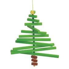 Wood Crafts - Wooden Tree Mobile