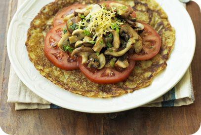 Flinndal | Gezond Gewicht | Originele paddenstoelenpannenkoek #recepten #gezond