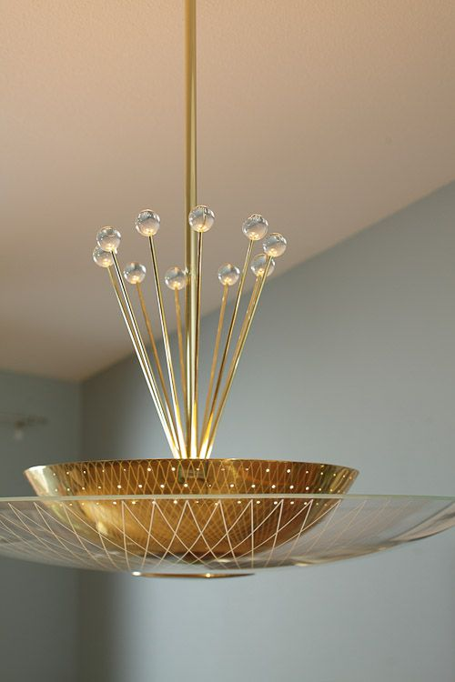 Super fabulous atomic light fixture