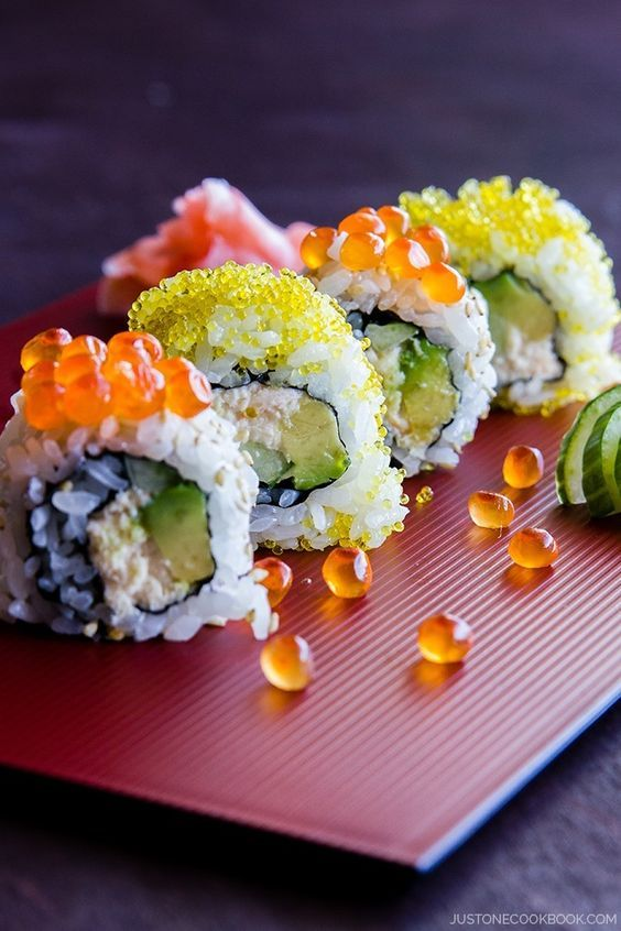 INTENSE FOOD CRAVINGS — California Roll | Just One Cookbook