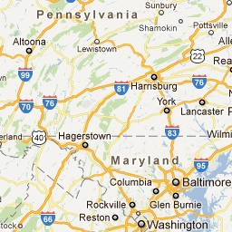 3-5 days of things to do between D.C. and Pittsburgh. See map at If pinterest won't link to this the roadmap, please try http://goo.gl/D5wFh.