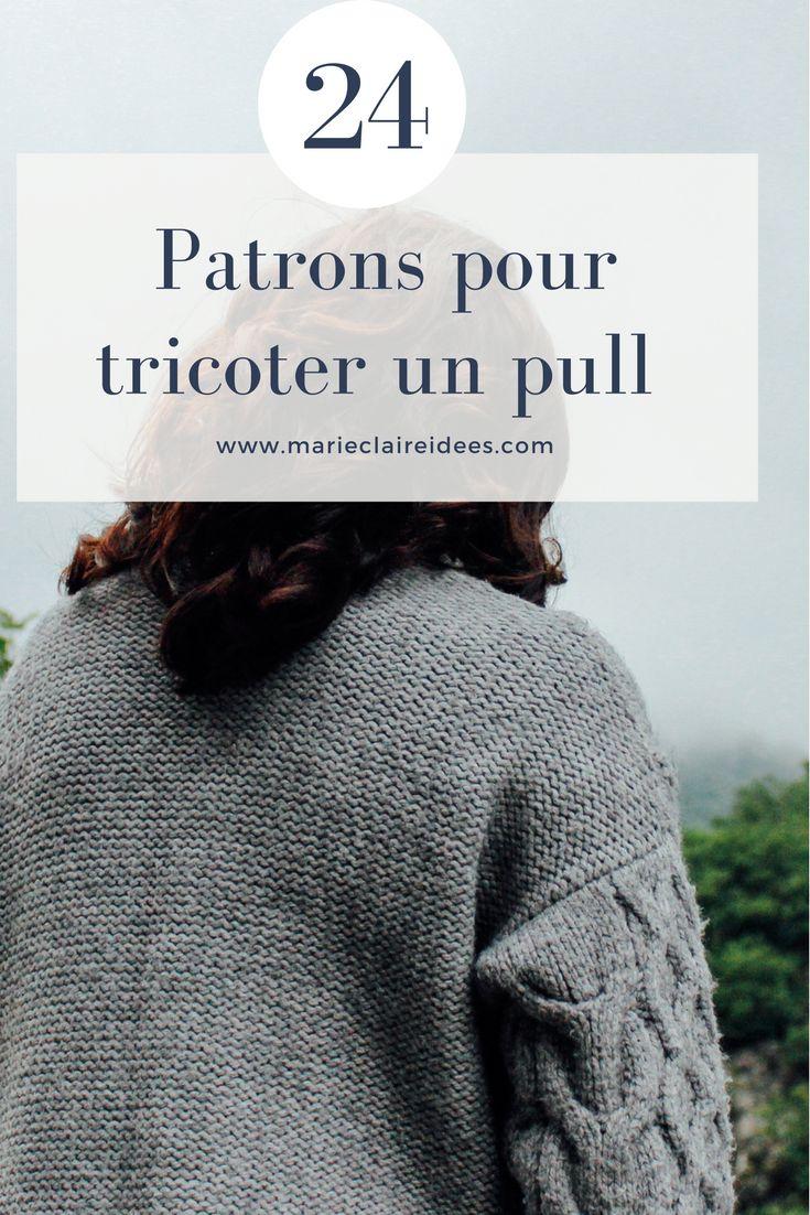 24 patrons pour tricoter un pull facilement / patron de tricot / knitting patterns