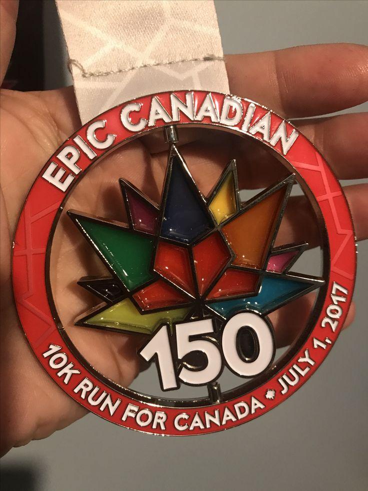 Epic Canadian 10K Dartmouth, NS July 2017 #epiccanadian #blingjunkie