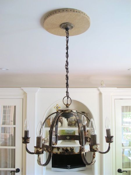 Make a Chandelier Canopy