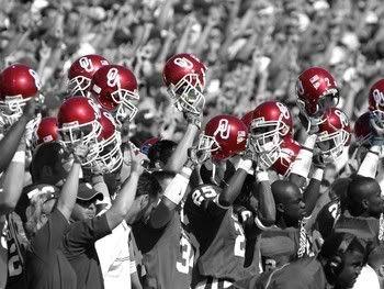 Crimson....I love my Sooners!!