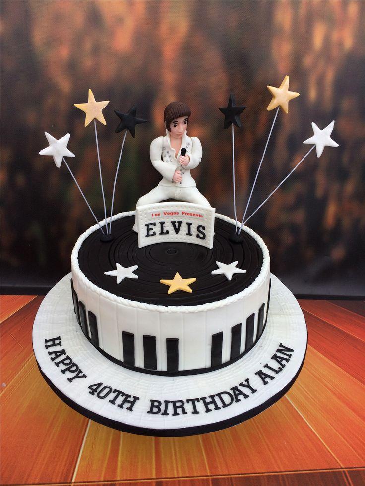 Elvis Presley Cake.